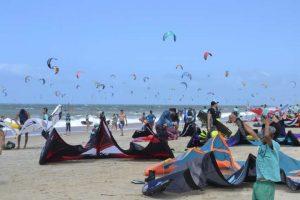Największe zgromadzenie kitesurferów