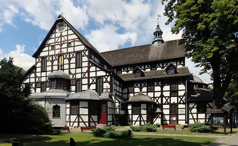 Największy drewniany kościół wPolsce