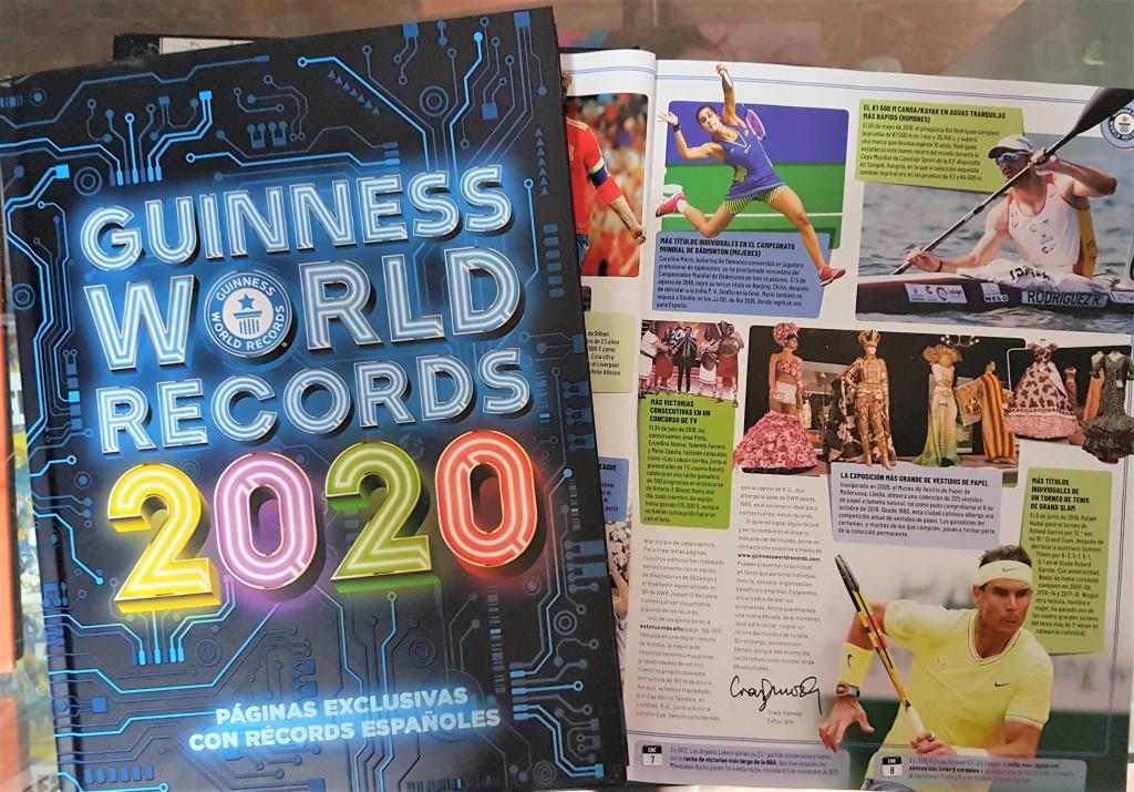 Najnowsza Księga Rekordów Guinnessa