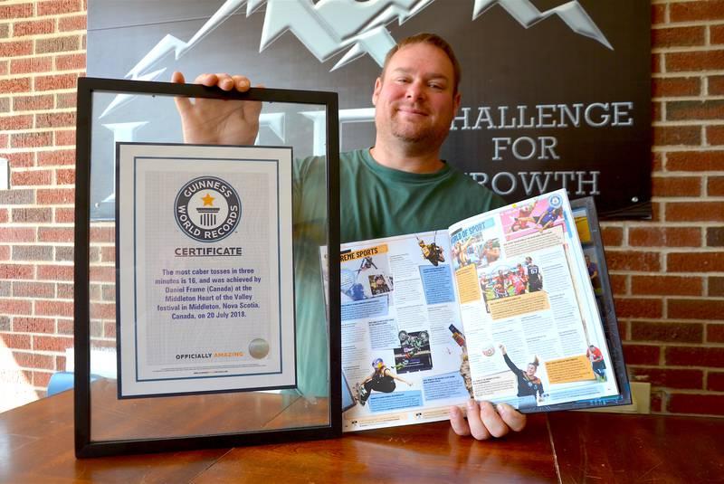 Rekordzista wKsiędze Rekordów Guinnessa