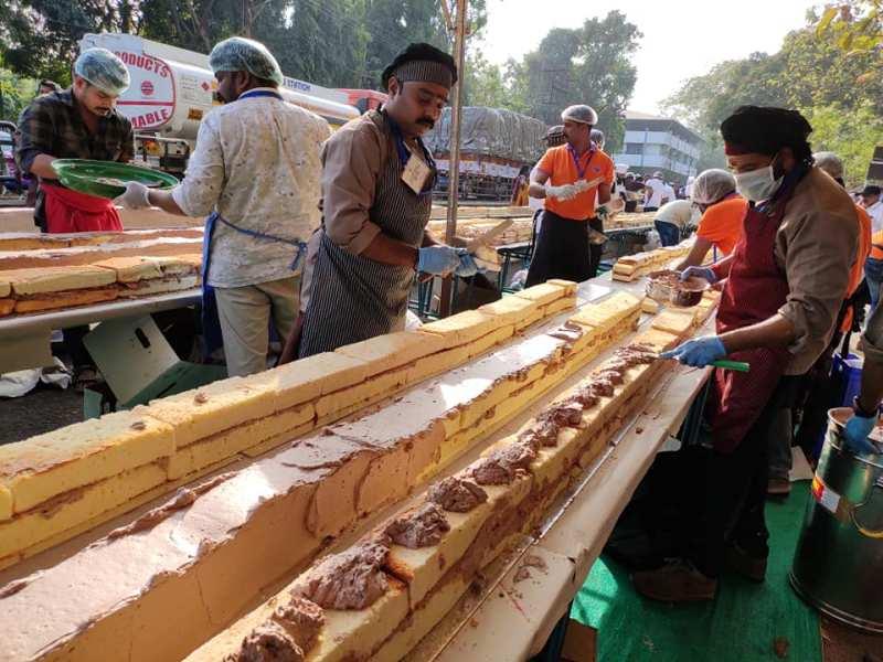 Najdłuższe ciasto świata