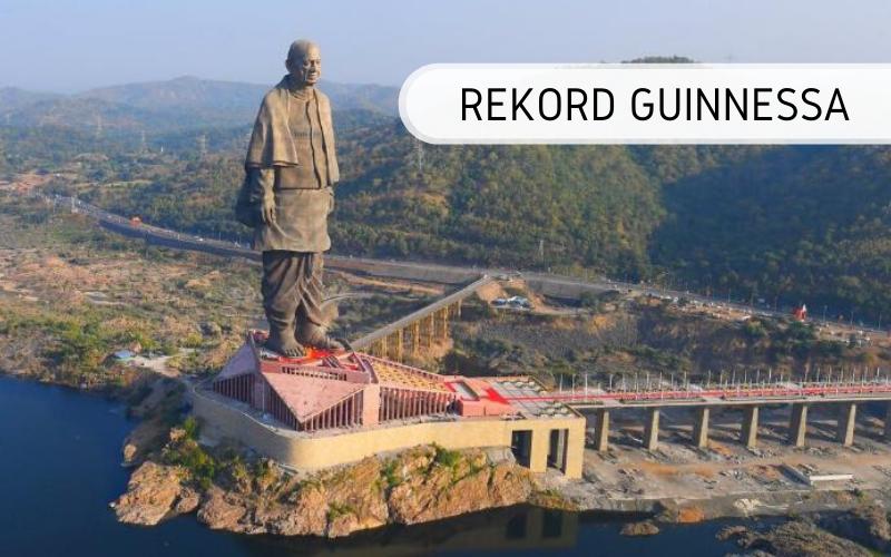Najwyższy posąg świata - rekord Guinnessa