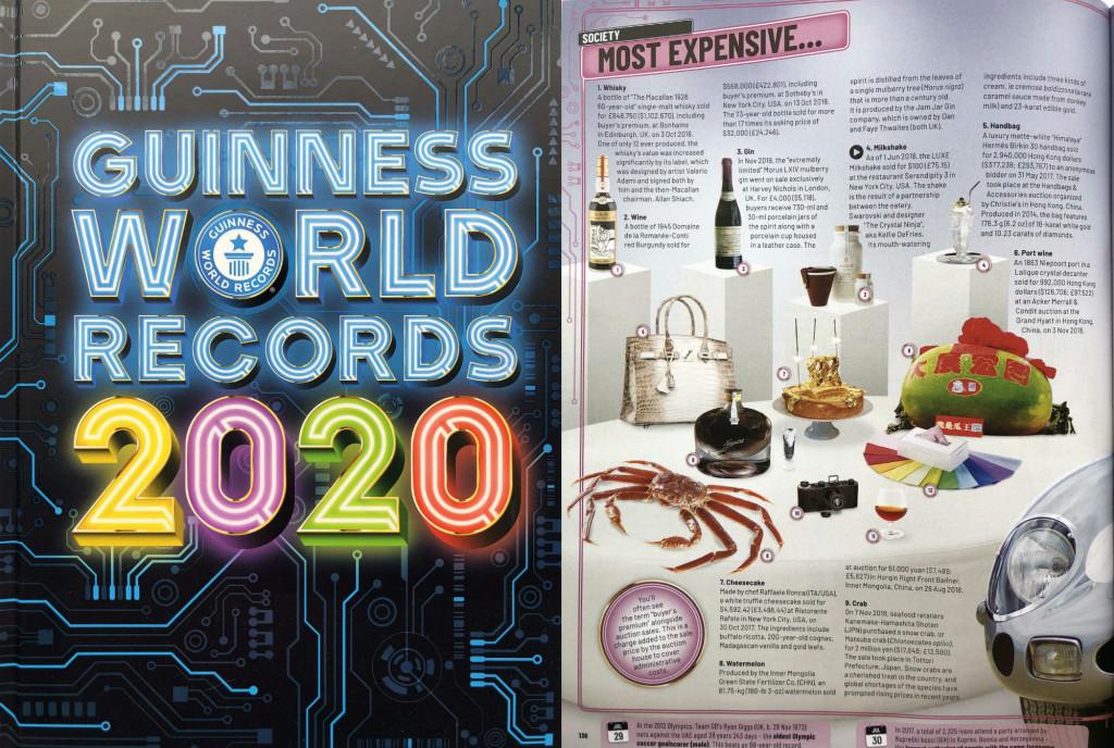 Rekordowe Strony Księgi Rekordów 2020