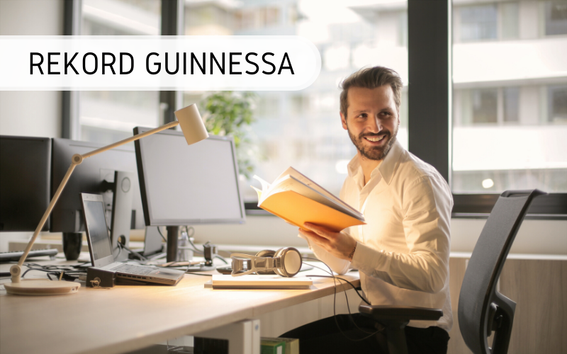 Rekord Guinnessa - Największa lekcja biznesu online