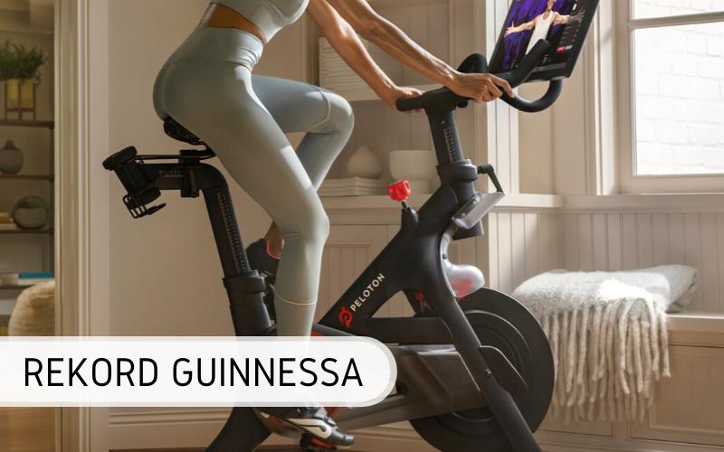Rekord Guinnessa - Największa lekcja jazdy na rowerze stacjonarnym online