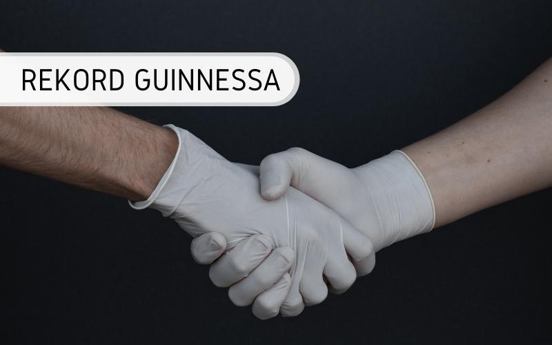 Rekord Guinnessa - Największa sztafeta uścisków dłoni