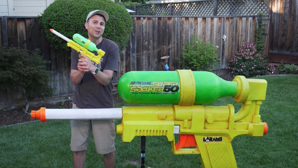 Największy pistolet na wodę