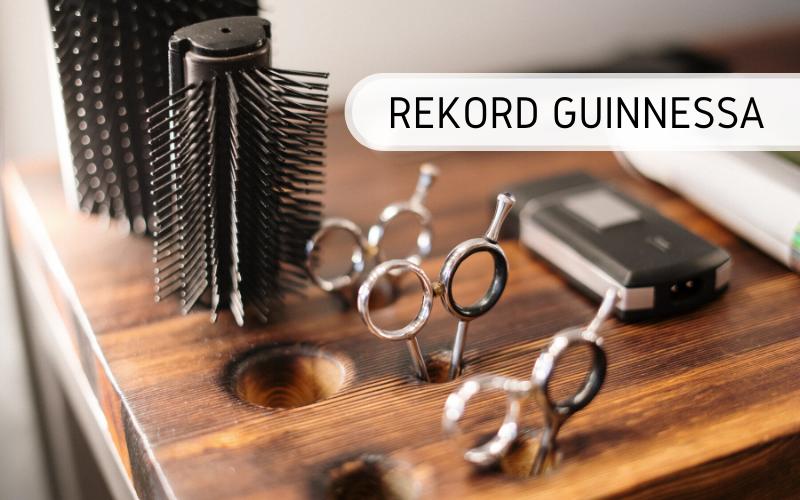 Rekord Guinnessa - najdłuższe szkolenie fryzjerskie online
