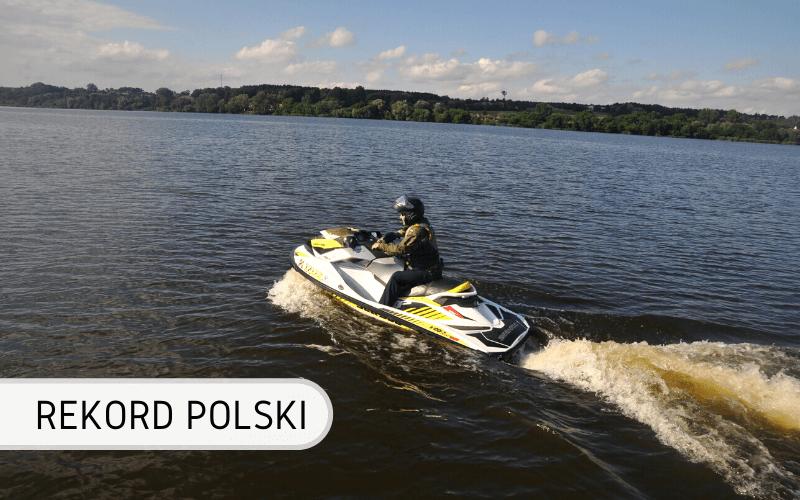Najdłuższy dystans przepłynięty skuterem wodnym