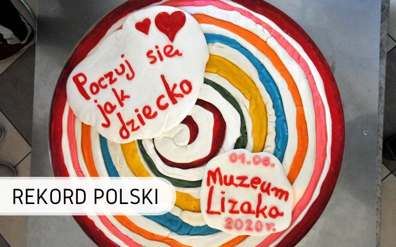 Rekord Polski - Największy Lizak