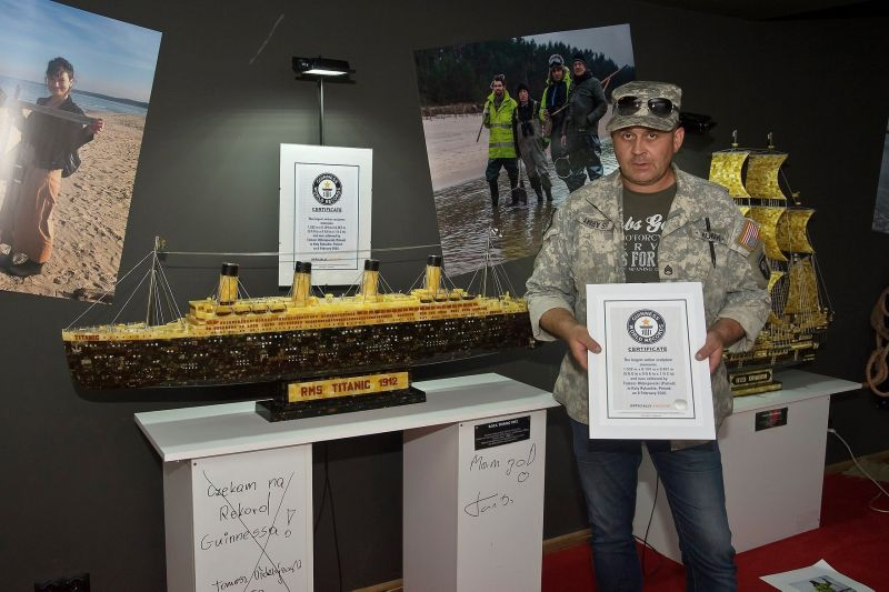 Tomasz Ołdziejewski - rekord Guinnessa