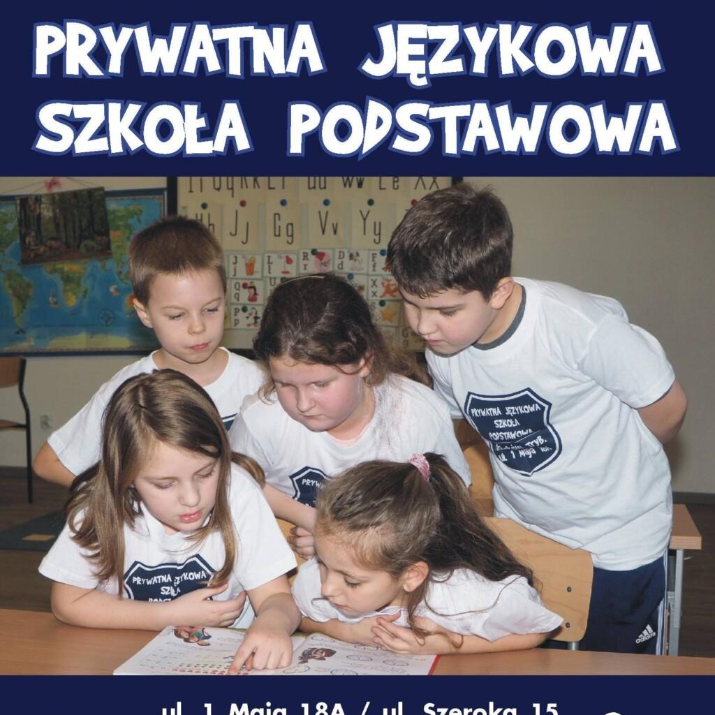 Prywatna Językowa Szkoła Podstawowa W Piotrkowie Trybunalskim
