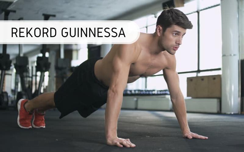 rekord Guinnessa - pompki mężczyzna - 1 godzina