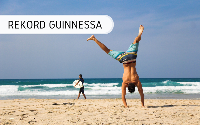 rekord Guinnessa - wakacyjne rekordy Guinnessa