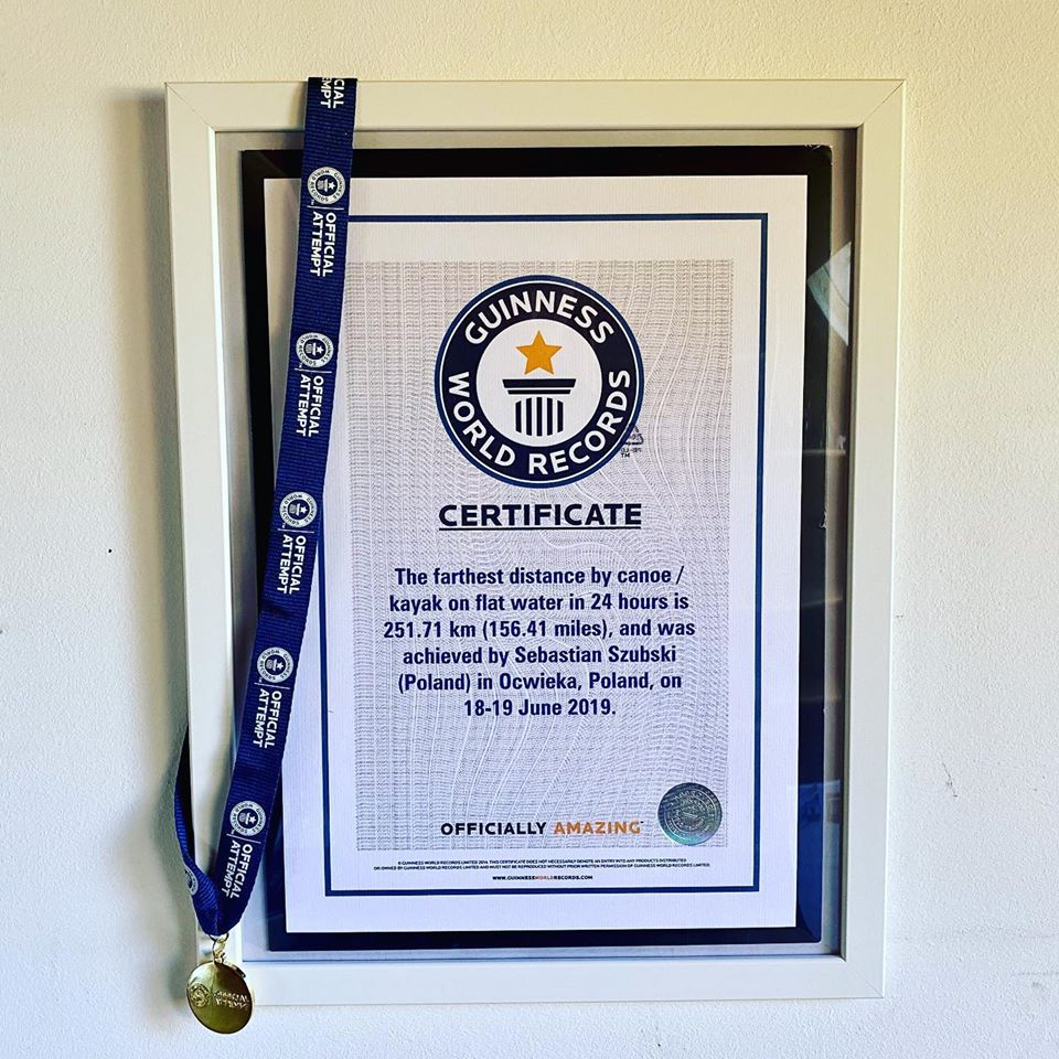 rekord guinnessa -sebastian szubski