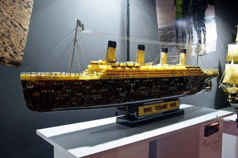 Statek zbursztynu - Rekord Guinnessa