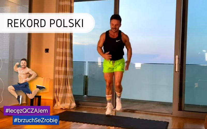 Rekord Polski - Największa lekcja fitness online