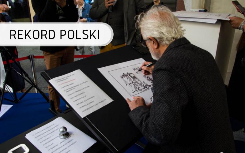 Rekord Polski - najwięcej rysunków w ciągu 1 godziny