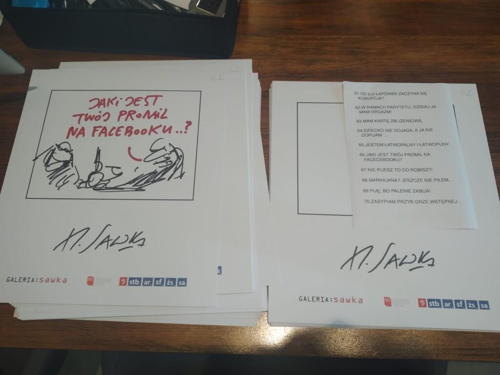 henryk sawka - rekord rysunków w1 godzinę