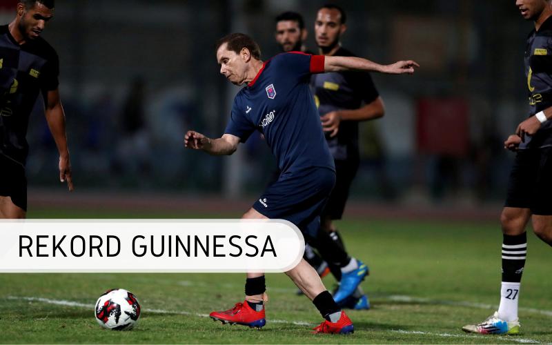 Rekord Guinnessa - najstarszy piłkarz