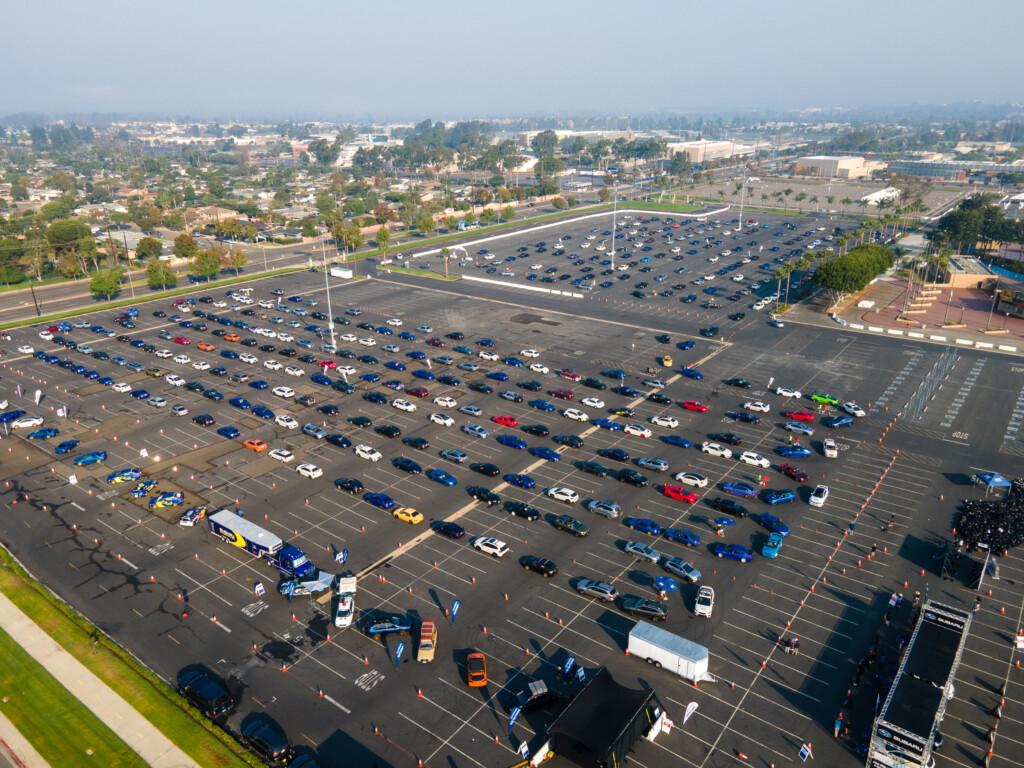 największa parada aut subaru