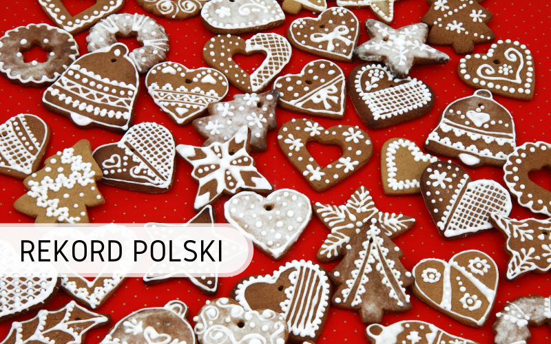 Rekord Polski - jedzenie pierników online
