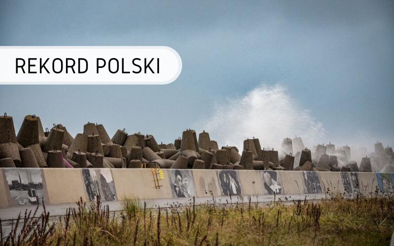 Rekord Polski - najwięcej obrazów na muralu