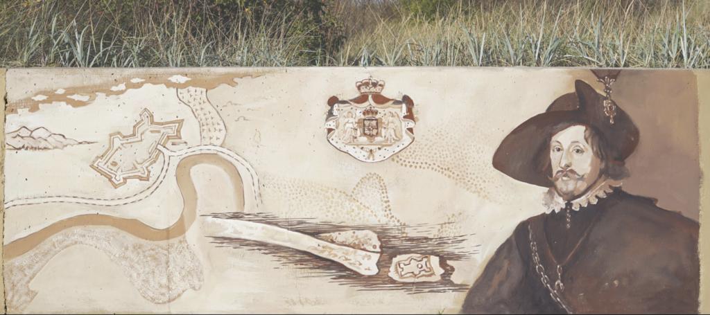 najwięcej obrazów najednym muralu