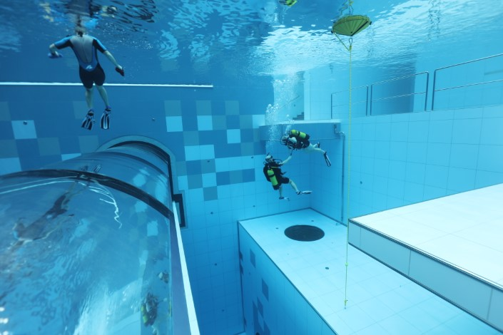 Deepspot - najgłębszy basen