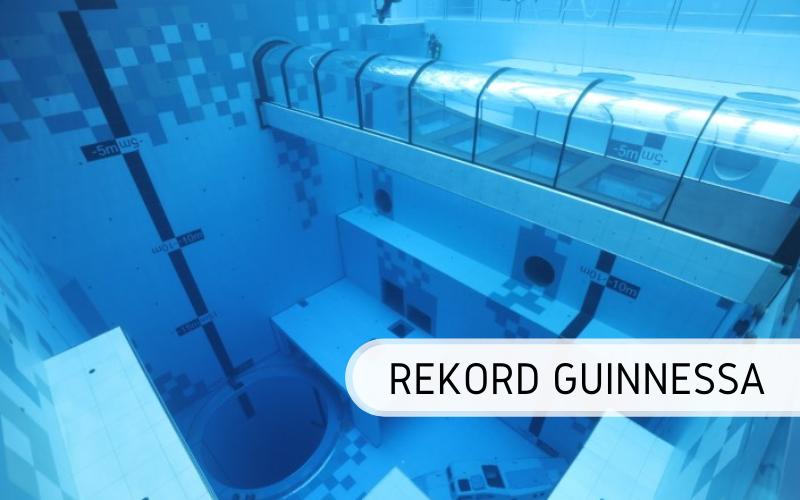 Rekord Guinnessa - najgłębszy basen