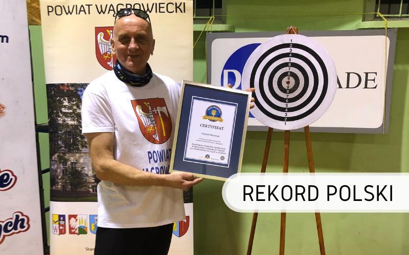 Rekord Polski - punkty w rzucaniu lotkami do tarczy