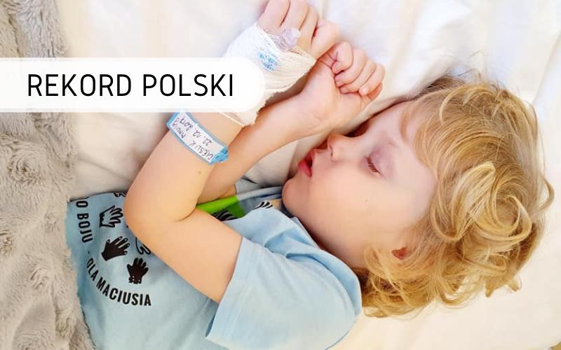 Rekord Polski - życzenia na Fb dla Maciusia