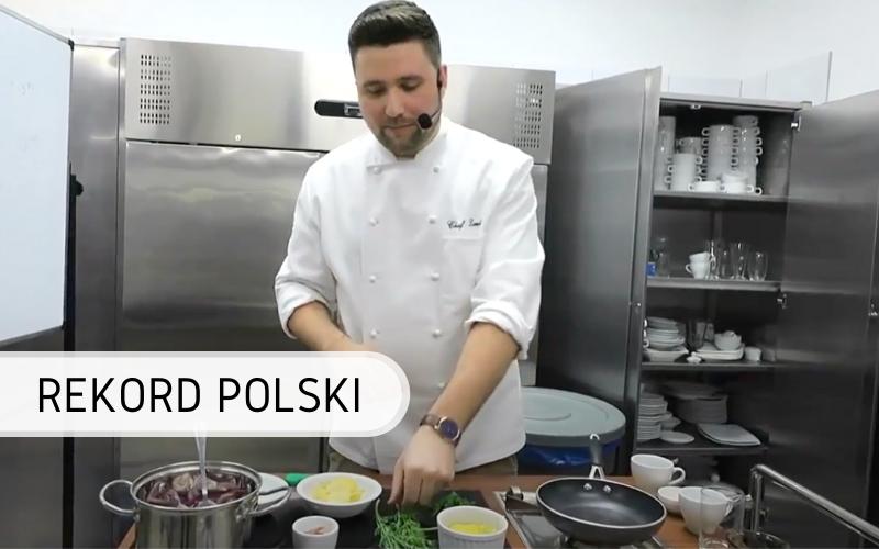 Rekord Polski - największa lekcja gotowania online