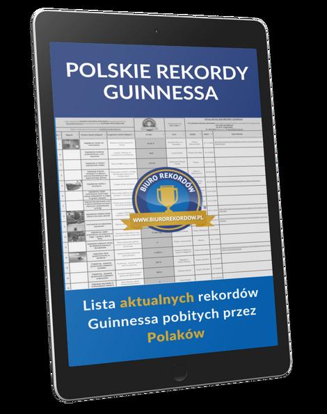 Polskie rekordy Guinnessa - Lista