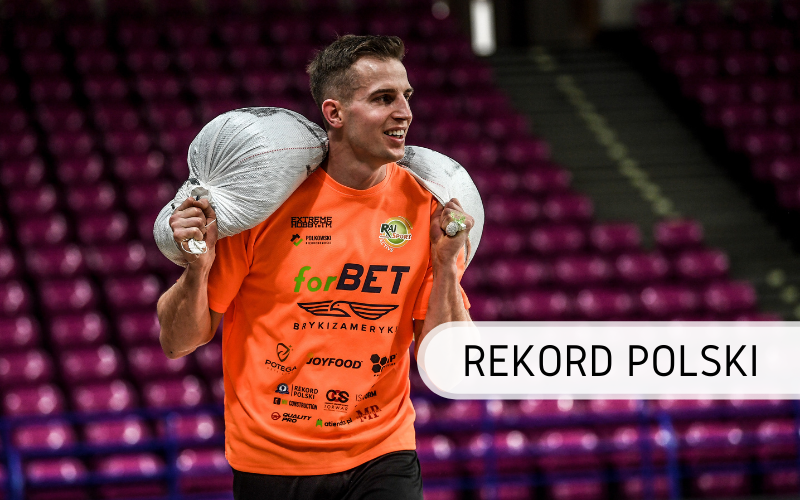 10 km z obciążeniem 50 kg - Rekord Polski