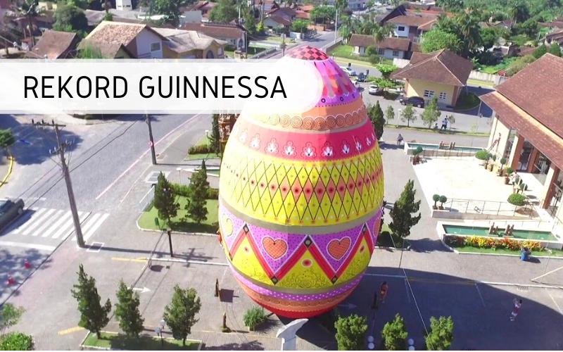 Największa pisanka - rekord Guinnessa