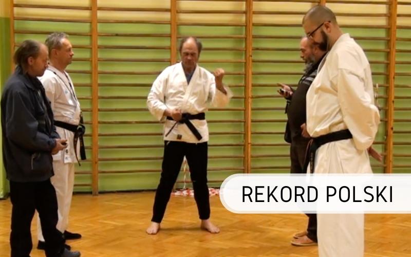 Rekord Polski - karate Uchi Uke