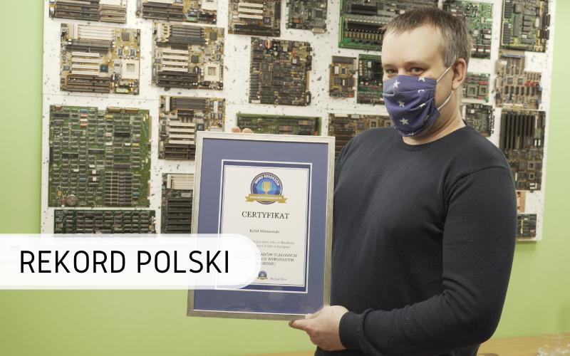 Rekord Polski - najwięcej układów scalonych wurządzeniu