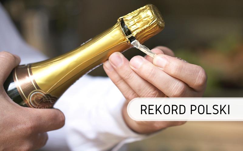 Rekord Polski - otwieranie prosecco online