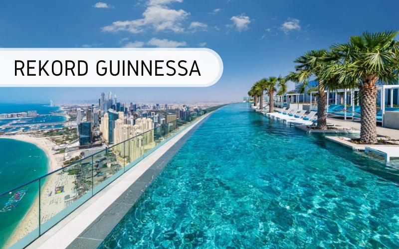 Rekord Guinnessa - najwyżej położony basen