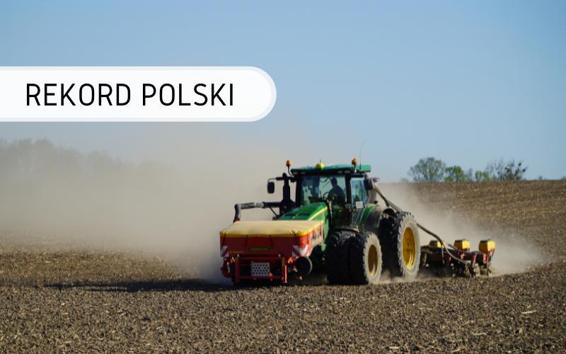 Rekord Polski - Najwięcej kukurydzy zasianej w ciągu 24 godzin