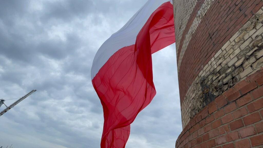 Największa powiewająca flaga narodowa