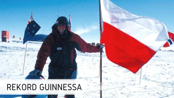 Rekord Guinnesa Marek Kamiński bieguny