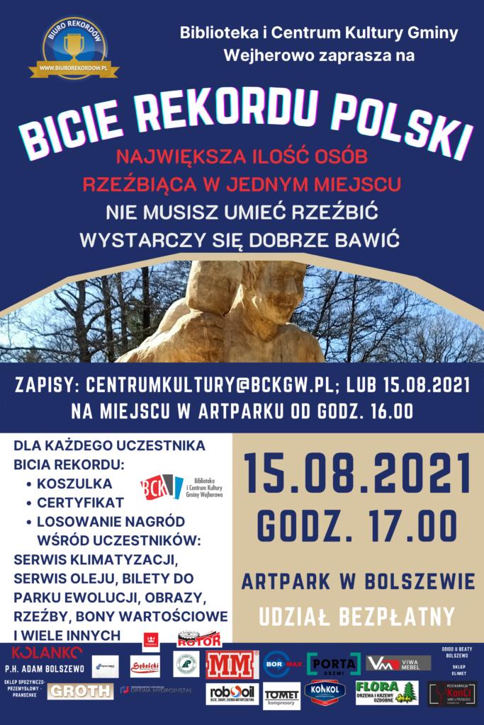Plakat bicie Rekordu Polski