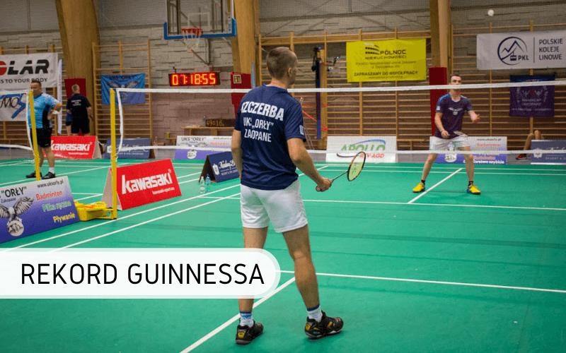 Najdłuższy mecz badmintona