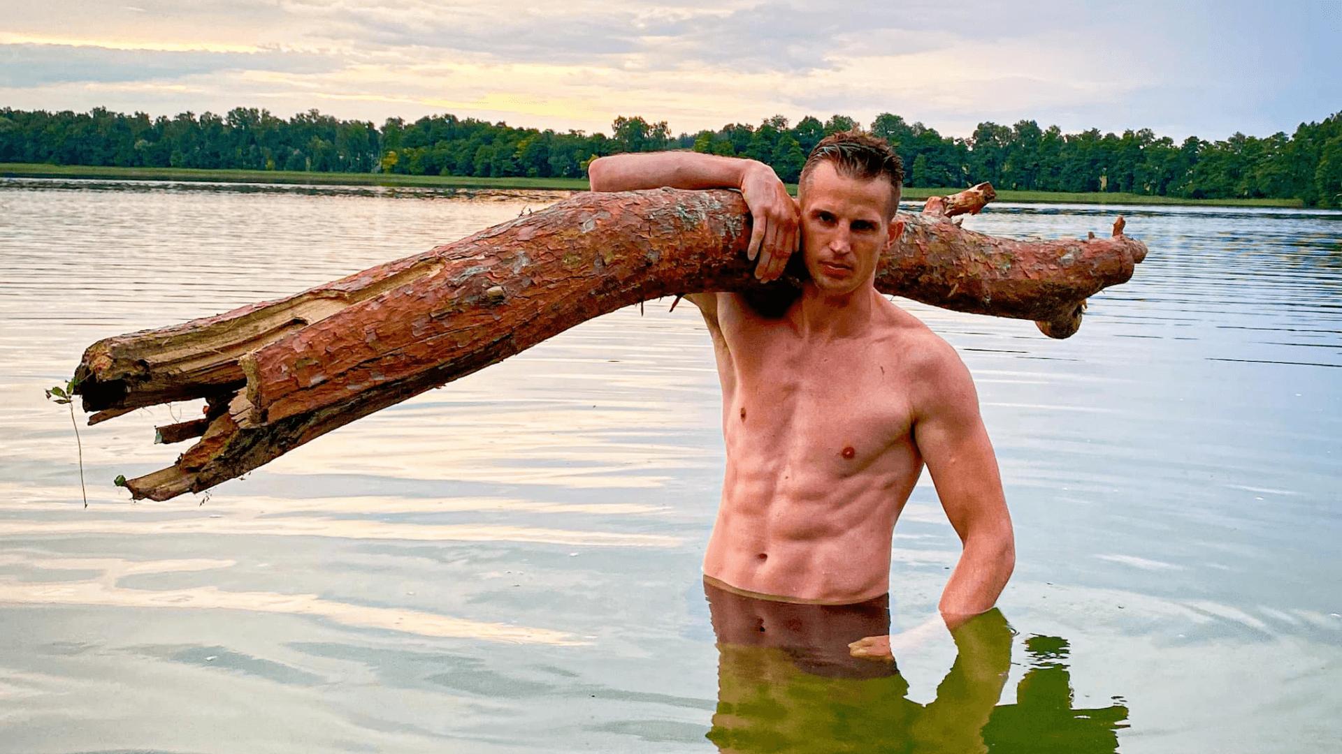 Wojciech Sobierajski - rekord triathlon 2021