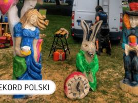 Rekord Polski w rzeźbieniu Bolszewo
