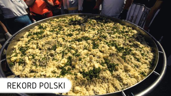 Rekord Polski na największą zapiekankę ziemniaczaną