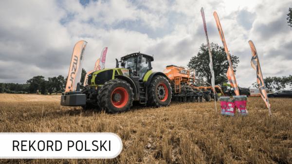 Rekord Polski na największy siew rzepaku w 12 godzin