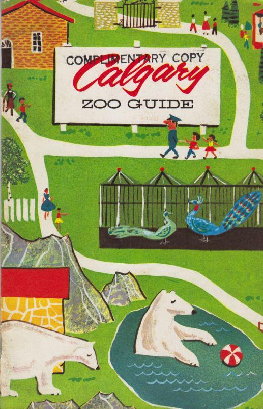 Przewodnik zzoo Calgary 1966